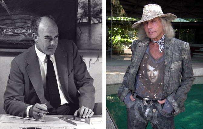John Lautner i James Goldstein