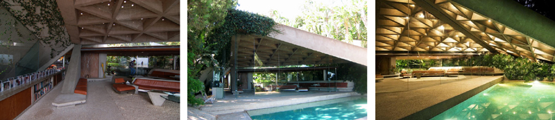 The-interior-of-the-Sheats-Goldstein-Residence-by-John-Lautner-Built-in