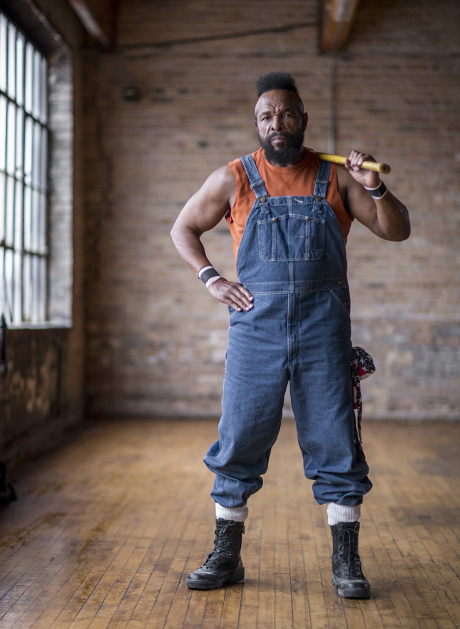 Mr. T, host of DIY Network's I Pity the Tool.