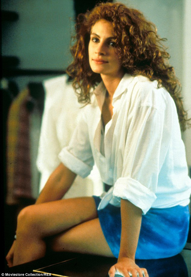 Pretty Woman, Julia Roberts, ubrania, film