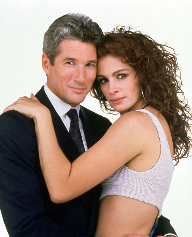 Pretty Woman, Julia Roberts, ubrania