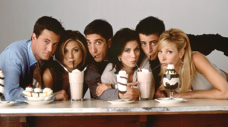 Friends Jennifer Aniston Courteney Cox Lisa Kudrow David Schwimmer Matt LeBlanc Matthew Perry Rachel Monica Phoebe Ross Joey Chandler