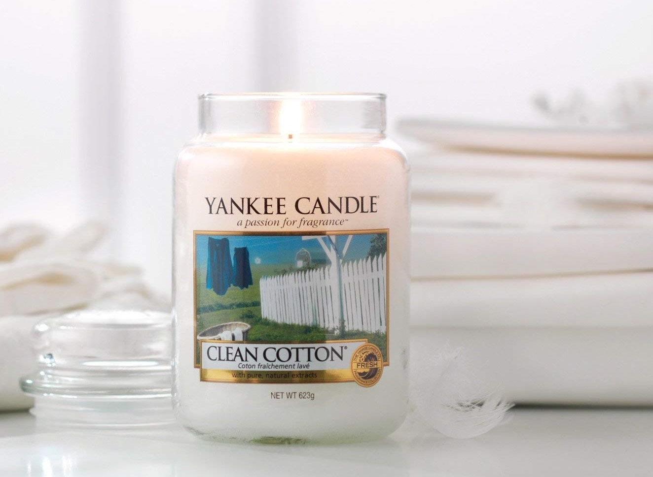 Clean Cotton Yankee Candle