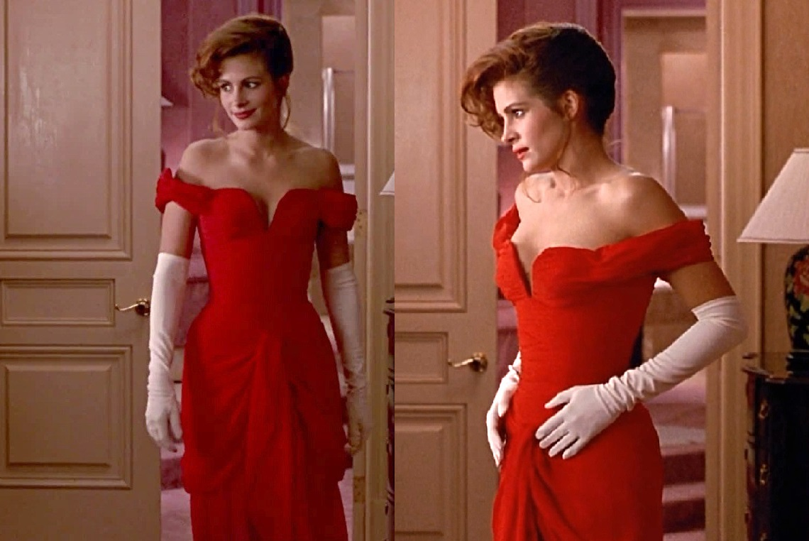 Pretty Woman red dress Julia Roberts