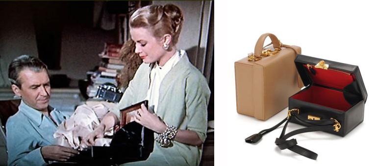 Grace Kelly i torebka jej imienia od Marca Crossa