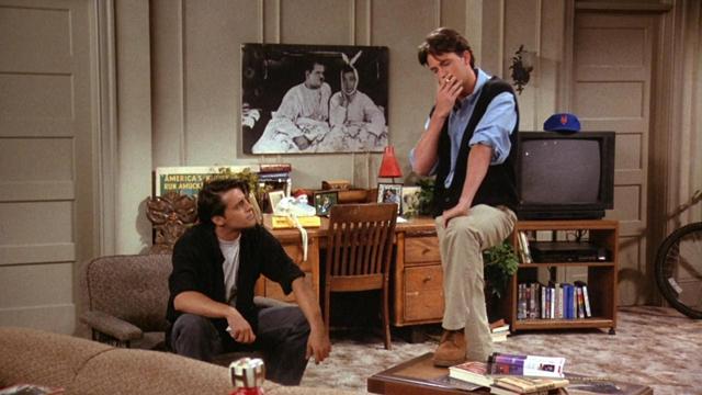 Przyjaciele - mieszkanie Joeya (6)