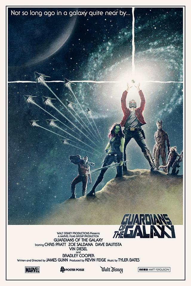 Strażnicy galaktyki - Matt Ferguson