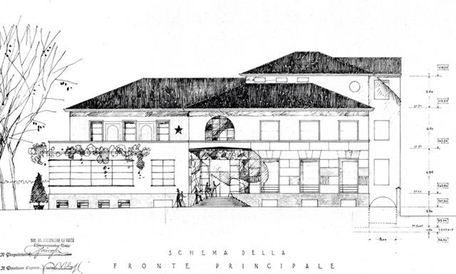 villa Necchi - plan