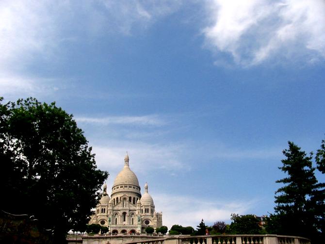 Paryż - Bazylika Sacre Care 1