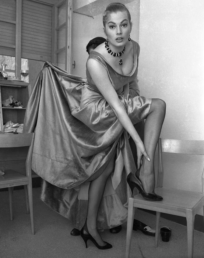 Portrait of Anita Ekberg