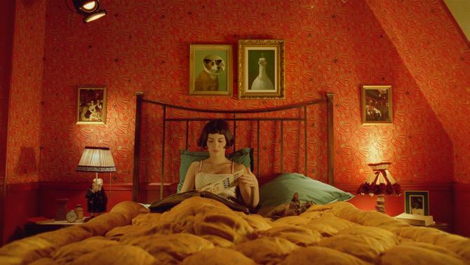 Amelia, film sypialnia