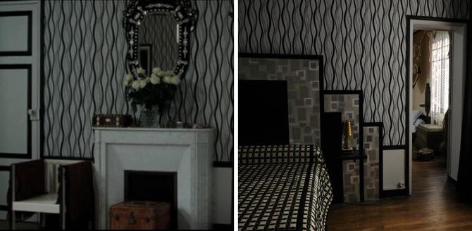 Chanel i Strawiński, film, sypialnia