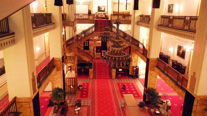 Grand Budapest Hotel, film, scenografia
