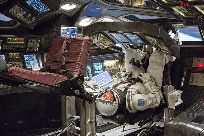 Interstellar, film, scenografia