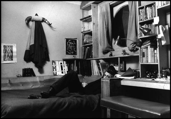 James Dean w mieszkaniu w Nowym Yorku