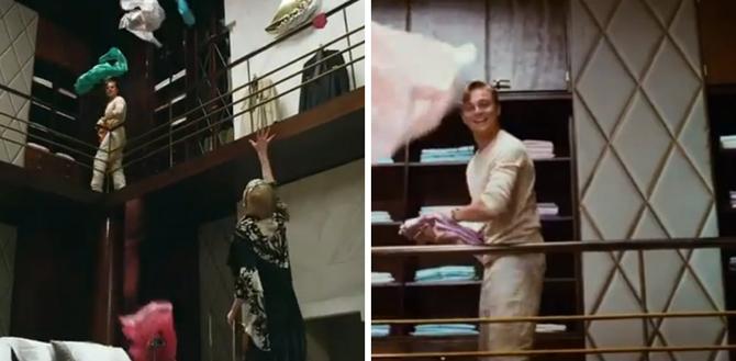 Wielki Gatsby, film, sypialnia