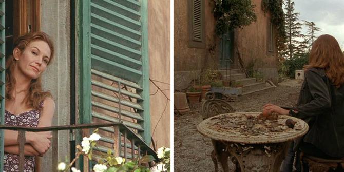 Pod słońcem Toskanii, film, dom