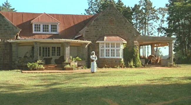 Pożegnanie z Afryką, film, dom Meryl Streep
