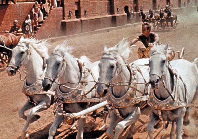 Ben Hur, film, filmy na Wielkanoc