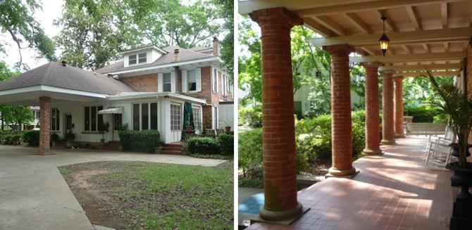 Stalowe magnolie, film, dom