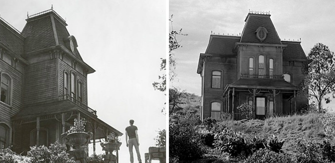 Psychoza, film, Hitchcock, dom