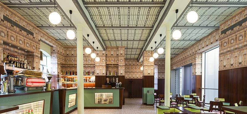Wes Anderson, projekt, kawiarnia