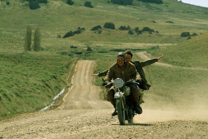 dzienniki motocyklowe, turystyka filmowa