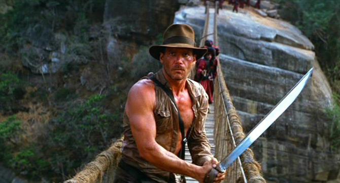Indiana Jones, turystyka filmowa, Harrison Ford