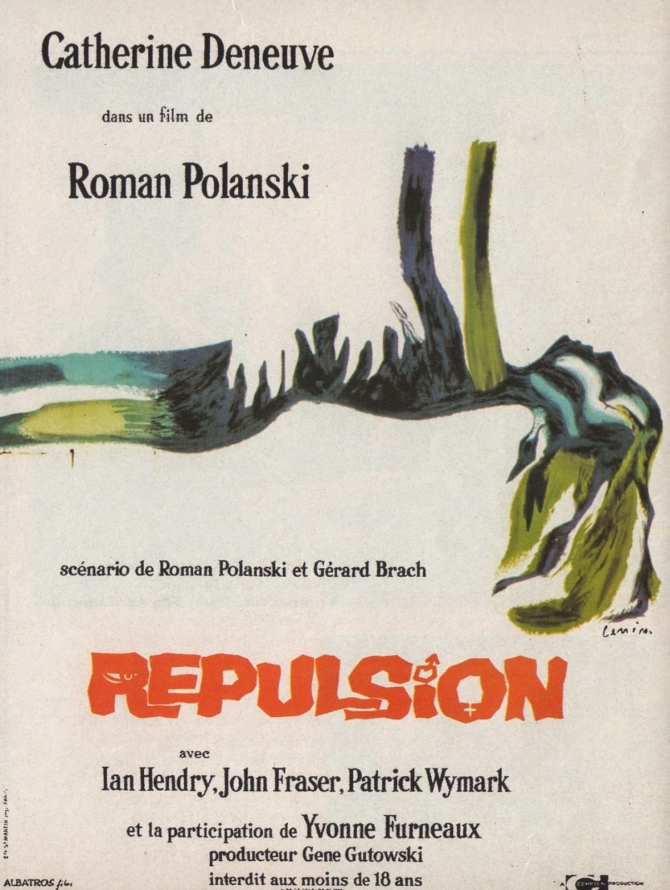 REPULSION+-+French+Poster+by+Jan+Lenica+1