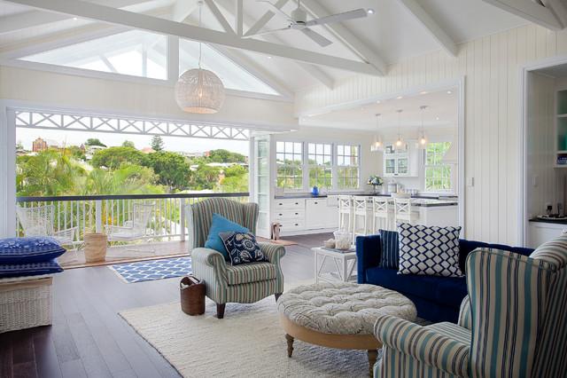Wnętrza w stylu Hampton
