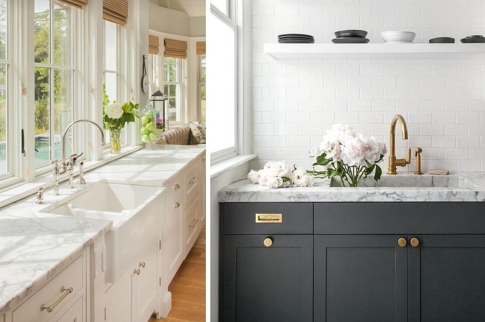 Marmurowe blaty do kuchni