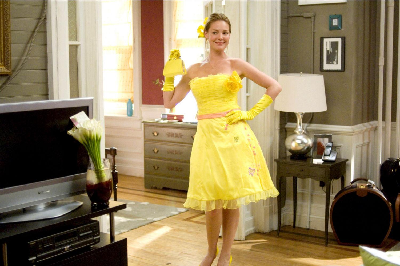 27 sukienek, film wnętrza
