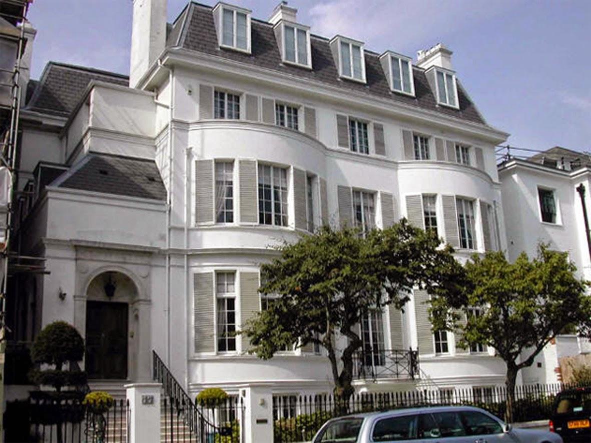 Villa Franchuk, Londyn. 10 najdroższych domów na świecie