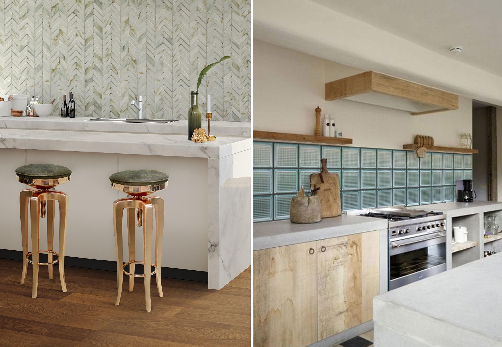 Aranżacje kuchni bez górnych szafek