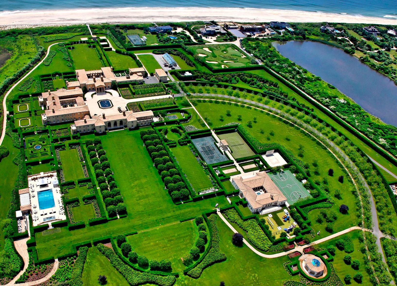 Ira Rennert dom w Hampton, 10 najdroższych domów na świecie