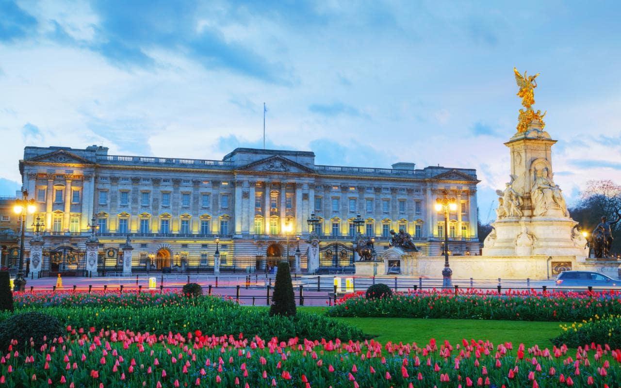 Buckingham Palace, 10 najdroższych domów na świecie