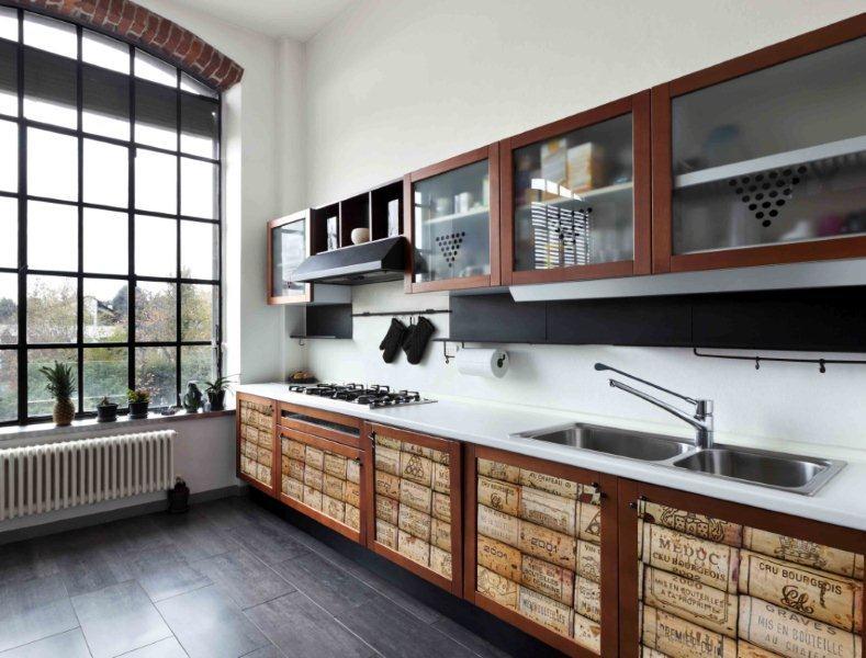 Oklejanie szafek kuchennych