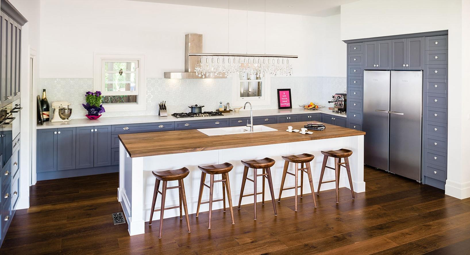 Kuchnia w stylu Hampton