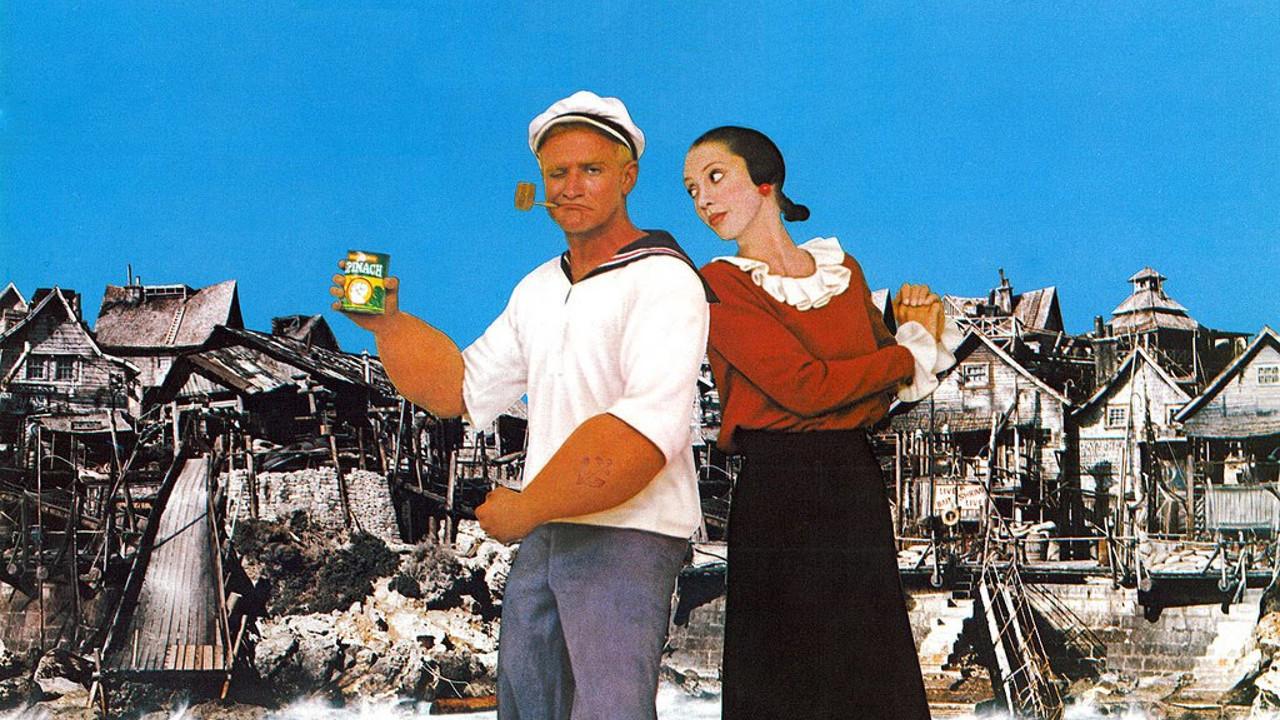 Film Popeye, 1980, reż. Robert Altman