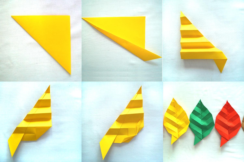 DIY: Jesienne dekoracje z papieru