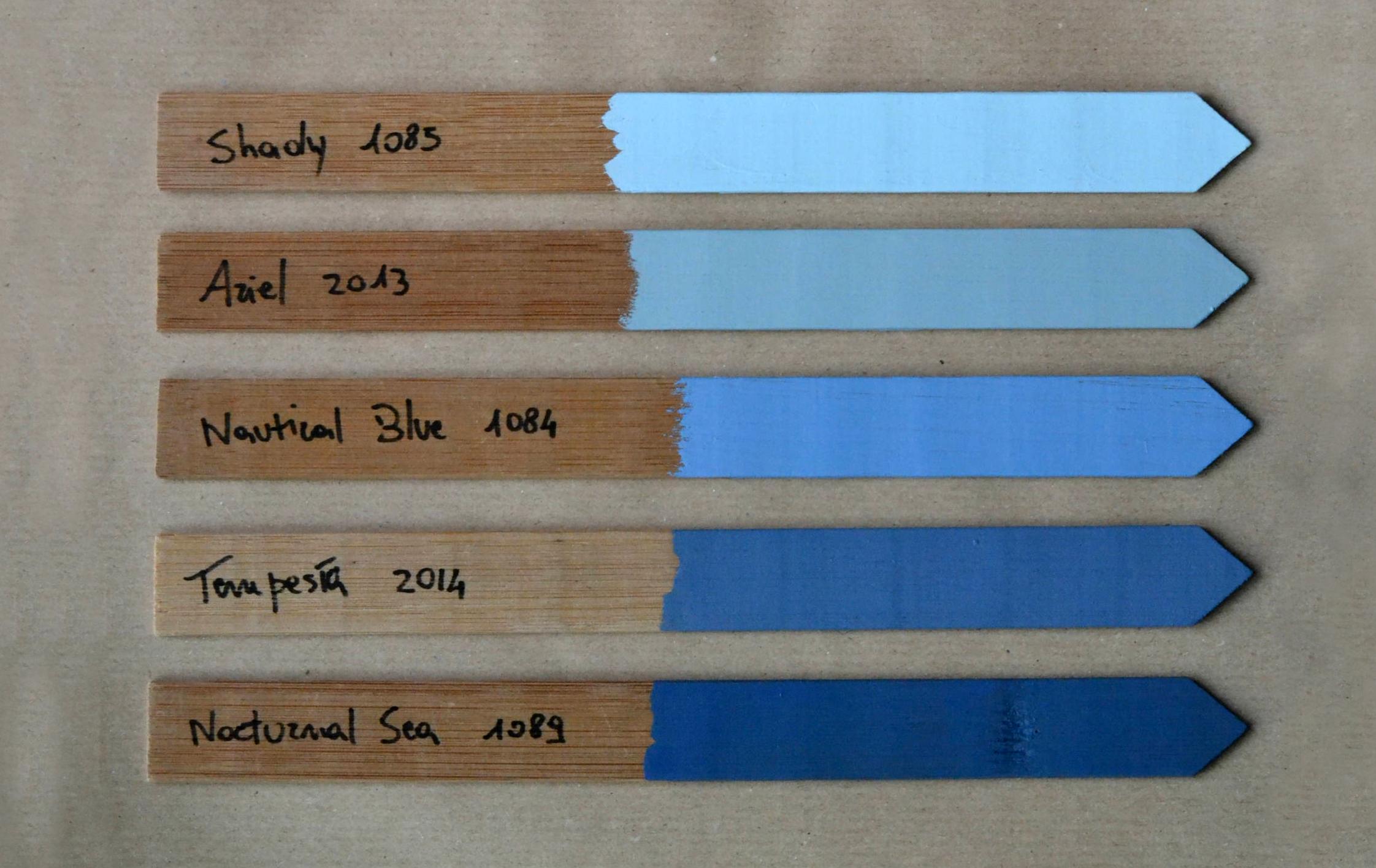 Dodatki w kolorze niebieskim do mieszkania