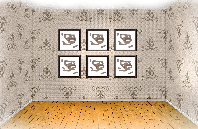Na jakiej wysokości powiesić obraz na ścianie