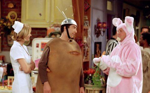 Kostiumy na Halloween, serial Przyjaciele