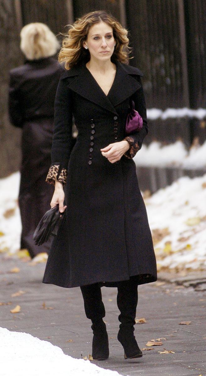 Carrie Bradshaw, Seks w wielkim mieście