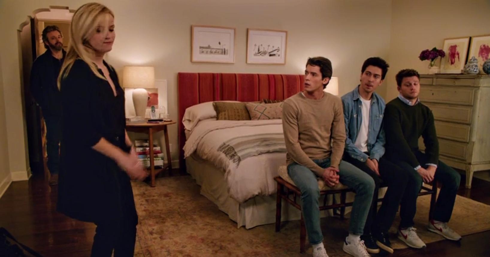 Wnętrza domu z filmu Wszyscy moi mężczyźni