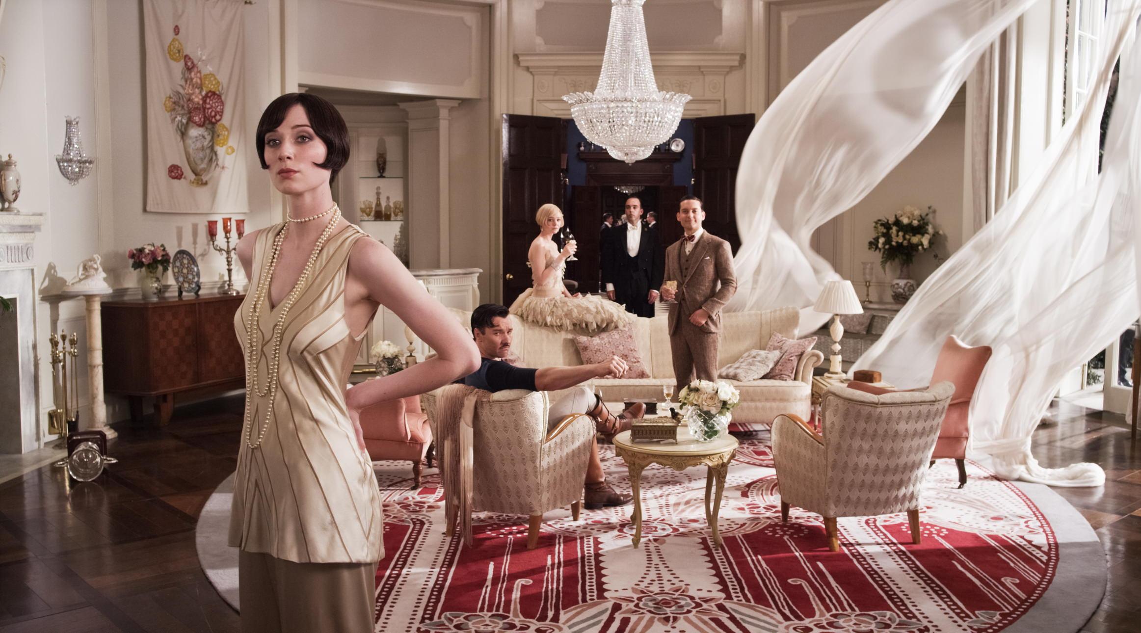 Wielki Gatsby, domy
