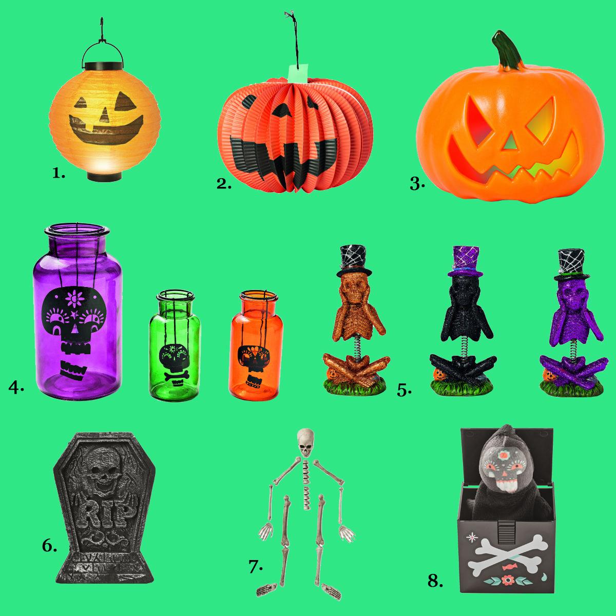 Dekoracje wnętrz na Halloween
