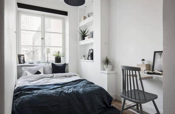 Aranżacja małej sypialni