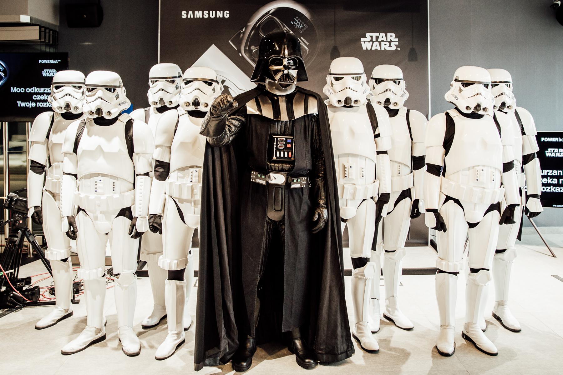 Roboty sprzątające Star Wars od Samsunga