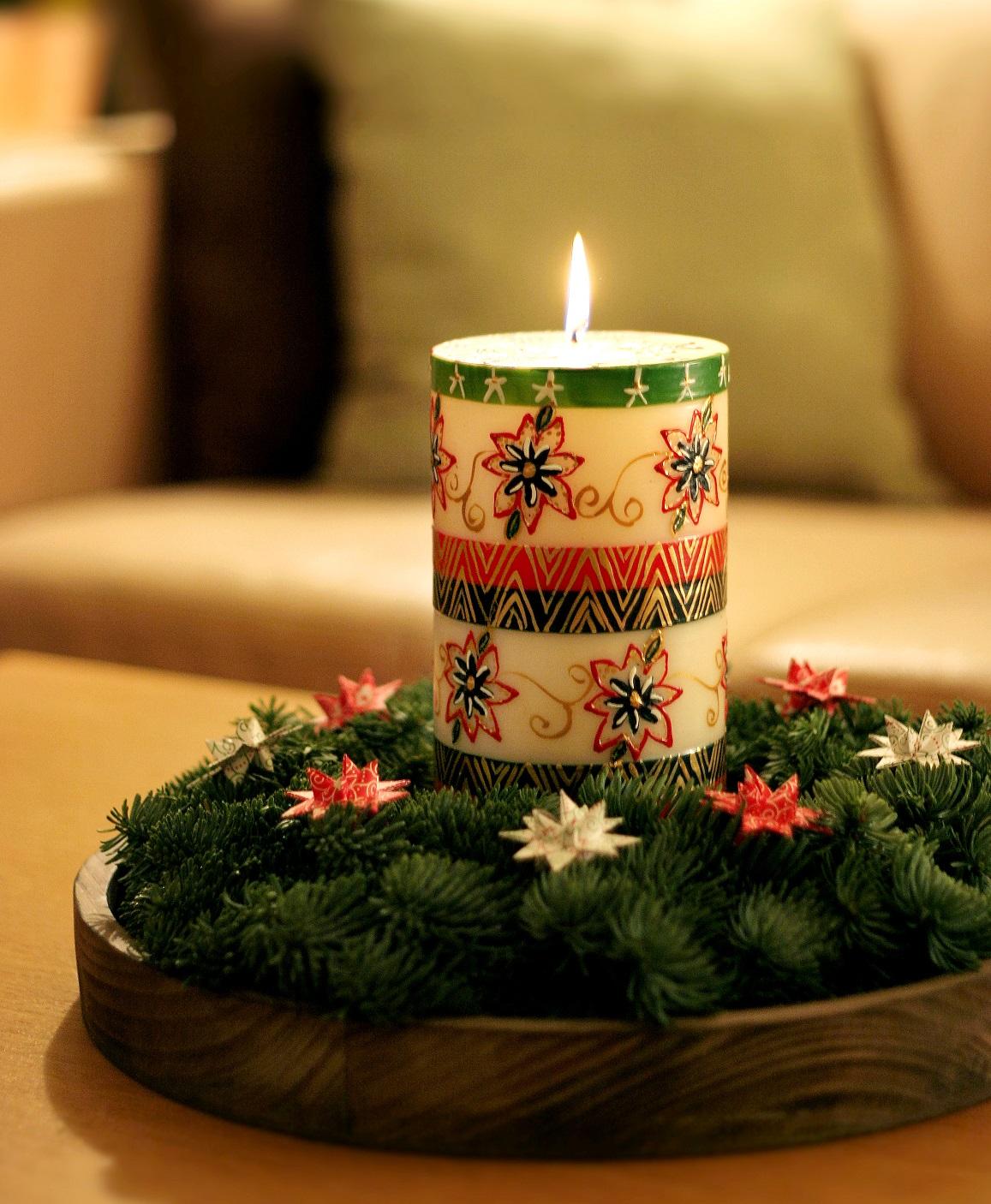 dekoracje świąteczne stroik